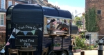 Vintage Horse Pizza Trailer The Fox Holgate